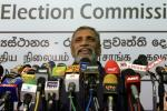 Sri Lanka's Election Commission Chairman Mahinda Deshapriya told a press conference that the army chief would have to explain why he had appeared to endorse one of the candidates in forthcoming presidential elections