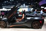 The BMW i8 plug-in Hybrid on display at the 2019 Los Angeles Auto Show in Los Angeles, California on November 20, 2019.