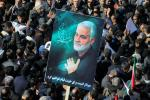 The strikes were in response to a US strike last week that killed Iranian general Qasem Soleimani and Iraqi top commander Abu Mahdi al-Muhandis, state television said
