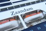 Holland America's Zaandam cruise ship was hoping to reach Fort Lauderdale, Florida but is stuck off the Pacific coast of South America