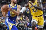 Steph Curry Lebron James, Golden State Warriors, Lakers