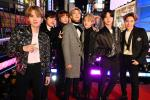 BTS at Dick Clark's New Year's Rockin' Eve