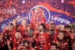 Liverpool lifted the Premier League trophy for the first time on Wednesday