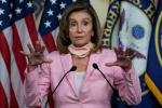 US House speaker Nancy Pelosi, seen in August 2020, is an outspoken critic of President Donald Trump