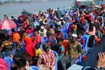 Rights groups allege over 1,640 Rohingya refugees are being transferred to a dangerous island against their will by the Bangladeshi authorities