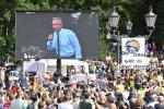 Robert F Kennedy Jr has repeatedly spread debunked claims about vaccines, and spoke at a protest in Berlin in 2020 called by Covid-19 deniers and members of the far right