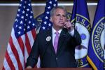 "US House Minority Leader Kevin McCarthy blasted the Covid rescue plan as a ""bloated"" trillion-dollar progressive wishlist"