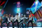 South Korean boy band BTS perform during the 2020 MTV Video Music Awards