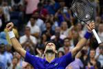 Serbia's Novak Djokovic reached the US Open quarter-finals and needs only three more wins to complete the first men's singles calendar-year Grand Slam in 52 years