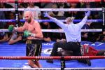 Still champ: WBC heavyweight champion Tyson Fury of Great Britain celebrates his 11th-round knockout victory over US challenger Deontay Wilder in Las Vegas
