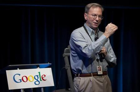Eric Schmidt, chairman and CEO of Google