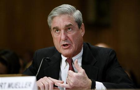 FBI Director Robert Mueller testifies before Senate Homeland Security and Government Affairs hearing on Capitol Hill in Washington
