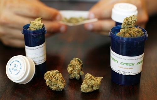 Medical marijuana on display in Los Angeles