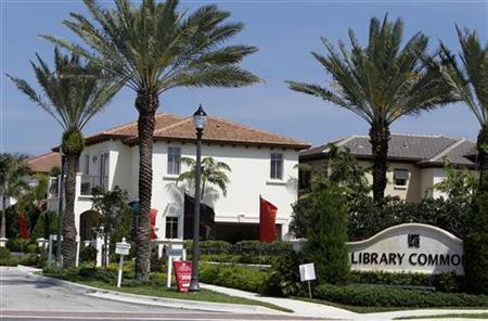 New homes in the Library Commons development are shown in Boca Raton