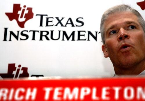 Rick Templeton, CEO of Texas Instruments