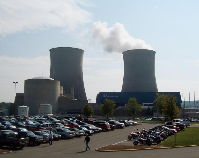 The TVA's Watts Bar Nuclear Plant