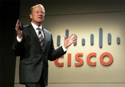 John Chambers, CEO of Cisco Systems Inc.