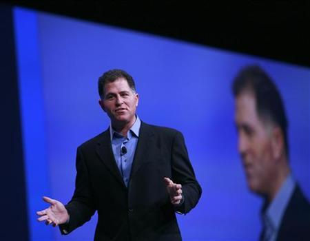 Dell Inc. CEO Michael Dell delivers keynote address at Oracle Open World in San Francisco