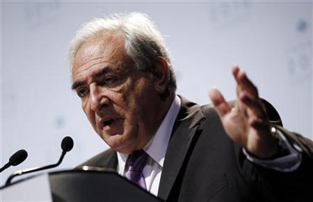 International Monetary Fund Managing Director Dominique Strauss-Kahn speaks at his closing news conference at the G20 Summit in Toronto