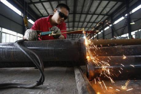 China's Manufacturing PMI Falls Short Of Flash Estimate