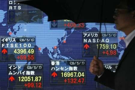 Asian stocks rise as China data boosts hopes