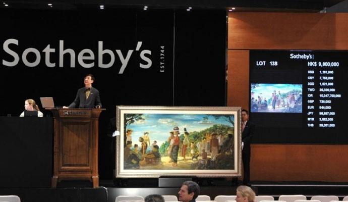 Sotheby's Hong Kong auction.
