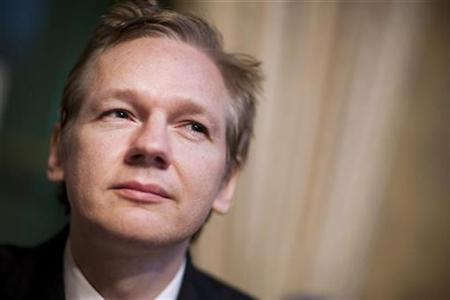 File photo of WikiLeaks founder Julian Assange