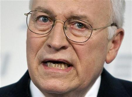 Former U.S. Vice President Dick Cheney
