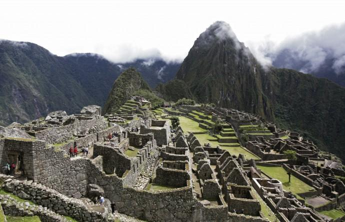 A general view of Machu Picchu ruins April 1, 2010.