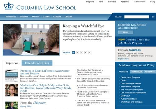 Columbia Law School website