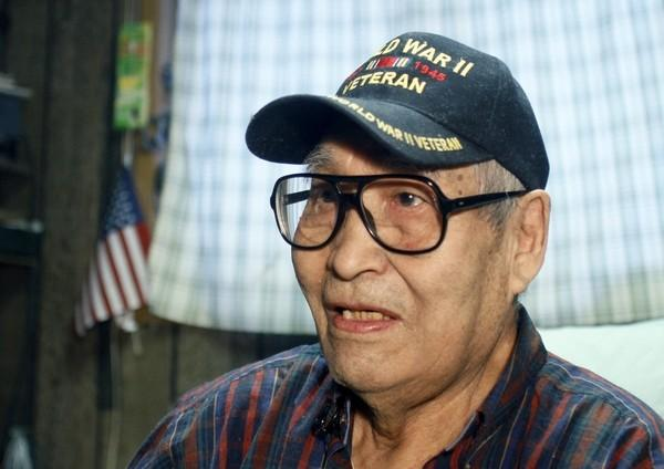 Eighty-nine year-old village elder and World War II veteran Clifton Jackson talks about being the first citizen in the nation to be enumerated for the 2010 Census in his home in Noorvik, Alaska.