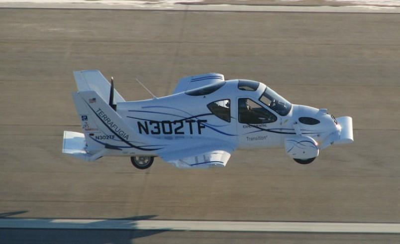 Flying cars set to hit market by 2012