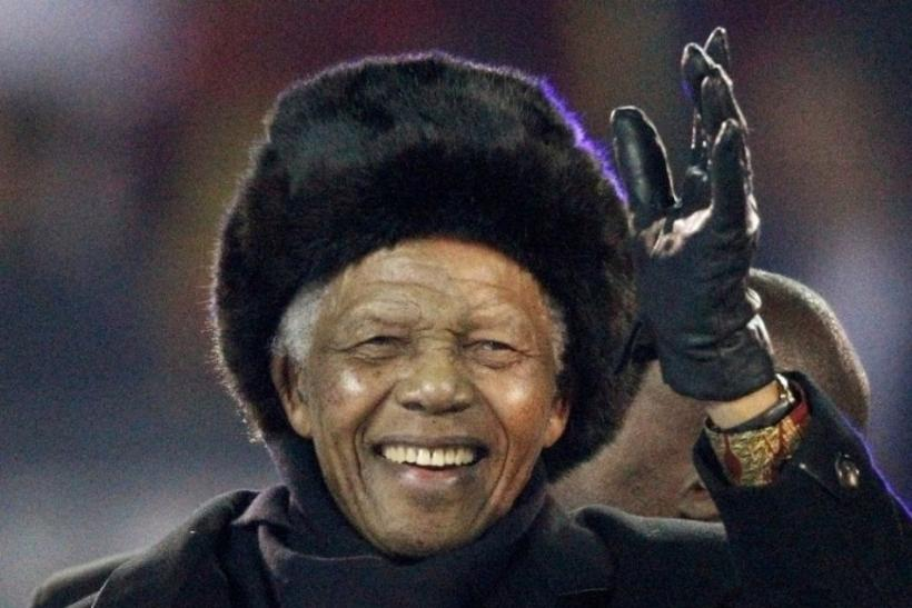 Nelson Mandela (Born 18 July 1918)