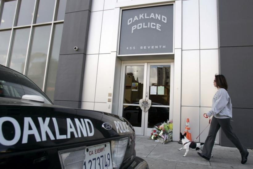 Oakland Calif. police station