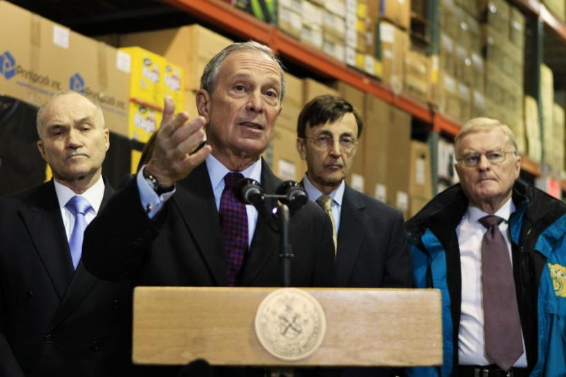 Mayor Bloomberg and NY fashion industry leaders calls for immigration reforms.
