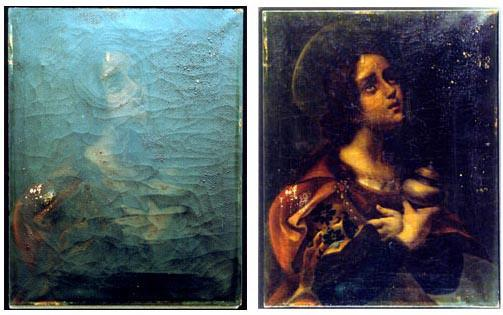 NASA saves irreparably damaged works of art.