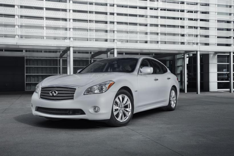 2012 luxury Infiniti hybrid priced at $53,700?