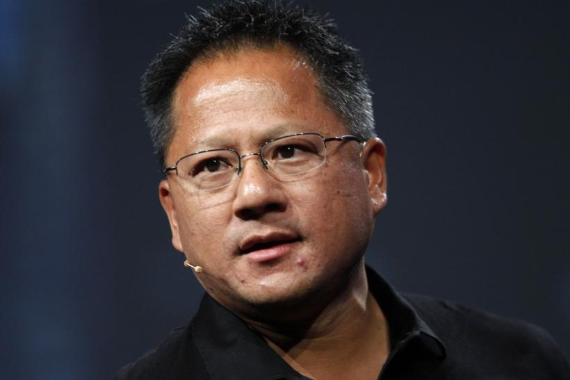 Jen-Hsun Huang at NVIDIA Analyst Event