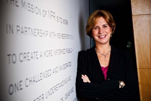 Vivian Schiller, Former National Public Radio CEO, is seen in an official photo.