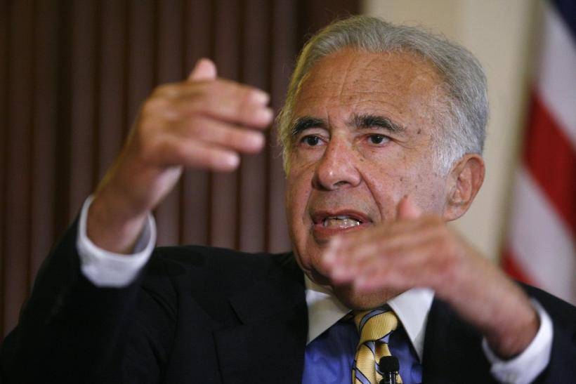 Carl Icahn, $12.5 billion, Icahn Enterprises