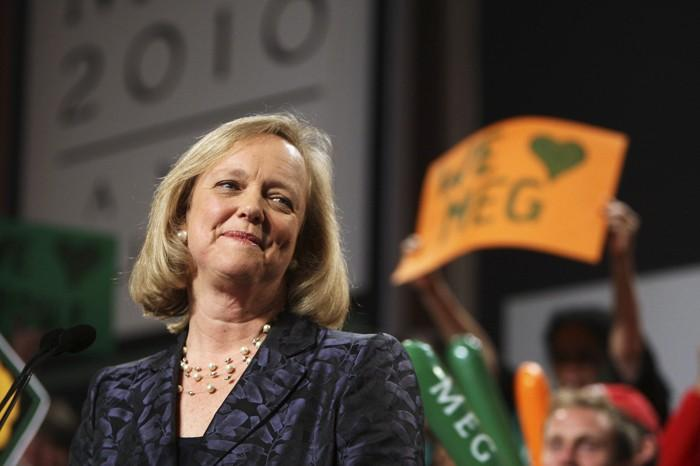 Meg Whitman gives her concession speech