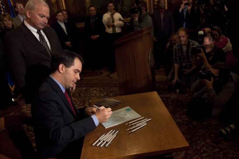 Wisconsin State Governor Scott Walker