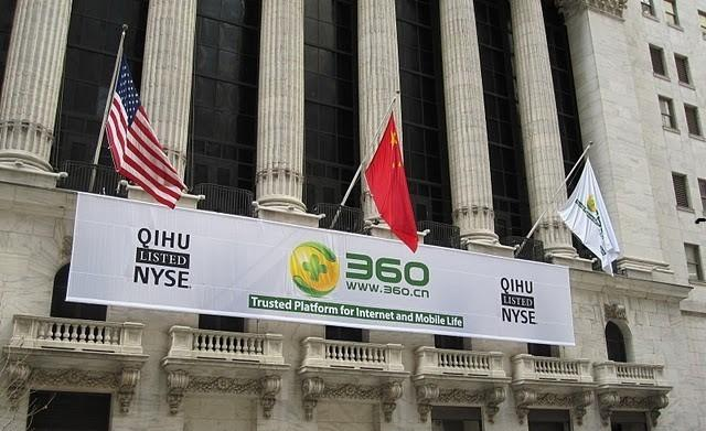 Qihoo 360 Technology At NYSE