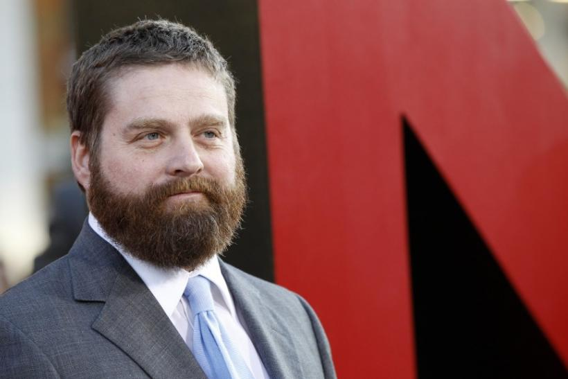 "Zach Galifianakis' ""Between Two Ferns"" is coming to television for the first time"