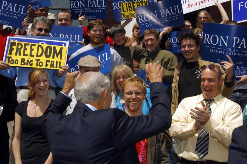 Ron Paul's theme song was The Imperial March at  New Hampshire