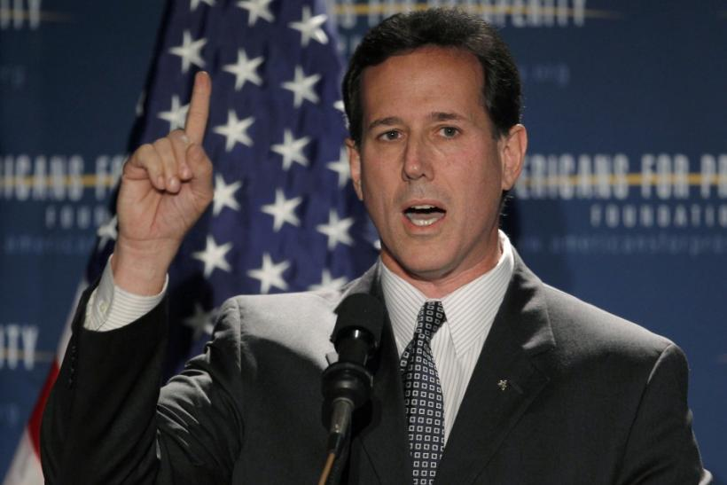 "Rick Santorum's ""Google Problem"""
