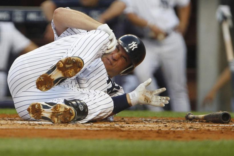 teixeira yankees injury