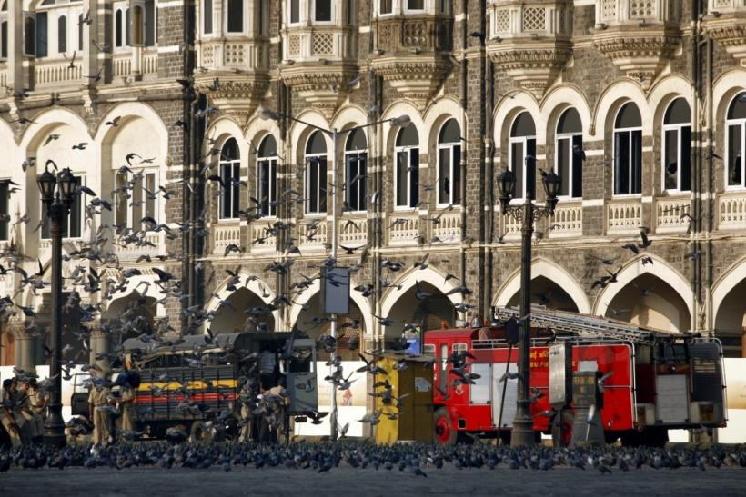 Taj hotel in Mumbai, one of the sites of the November 26, 2008 terror attacks