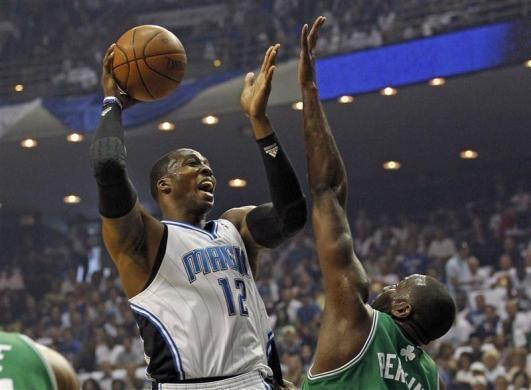 Dwight Howard leads the Magic this season with 20.2 points, 15 rebounds and 2.2 blocks per game.