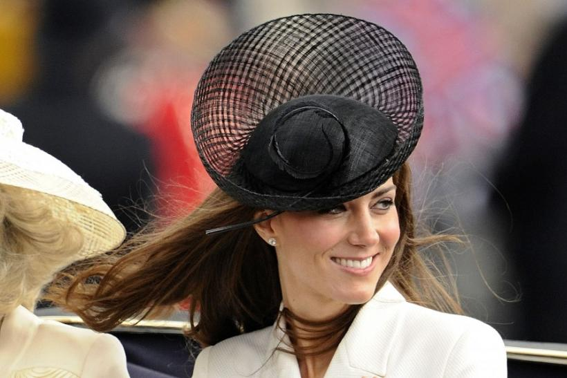 Britain's Catherine, Duchess of Cambridge